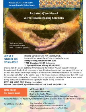 Healing w- Jeff Schmitt_Nov.8.2013